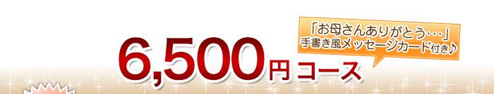 6500円コース
