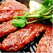 米沢牛通販のステーキです。